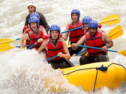 Rafting mit Green Peru Adventures