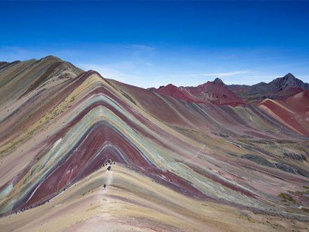 Regenbogenberge Cusco Peru mit Green Peru Adventures